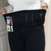 В наличии на толстом меху: штаны 175 грн, лосины 145 грн,  48-56рр и даже +