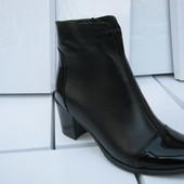 Выкуп.СП кожаная обувь!женские демисезонные ботинки 36-41 р.