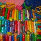 Хіт2019! 19 кольорів мега-модуліна для ліплення! Кращий і різноманітніший Play-doh!