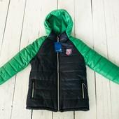 Зимние теплые куртки для мальчиков.Украина.128-146