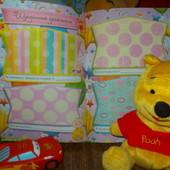 Яркий, разнообразный, чудесный фотоальбом с рождения! Наш малюк/ наша донечка! Фото+записи!