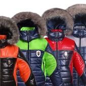Зимние куртки р. 104-164