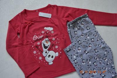ed09453c46fba Детские теплые пижамы с начесом для девочек и мальчиков совместная ...
