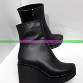 Распродажа кожаной обуви , обувь на меху . 33-42 рр