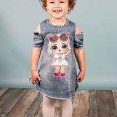 Быстрый сбор -  В наличии ф. 3 на 3 года. Одежда из Турции - платья - платье со светящейся Лол.