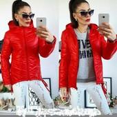 викуп 19.02 Женские весенние куртки женские.размеры 42-48 и 50-54 Есть много цветов спрашивайте