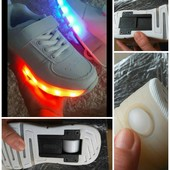 Акция Лед кроссовки -ролики,+10 режимов подсветки,зарядка юсб,отправка в день оплаты