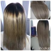 Ботокс для волос матирующий для блонда Richee soul blond