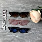 Выкупаю 12.08. Хит 2018: очки-лисички! Копия Fendi, только реальные фото