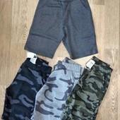 Без сбора ростовок! Шорты трикотажные и джинсовые для мальчиков на рост 116-164. Быстрая отправка