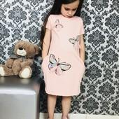 Выкупаю 24.05. Турецкие хлопковые платья для девочек. Размеры 98-128. Только реальные фото и замеры