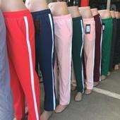 Женские летние брюки-штаны, ткань  софт.