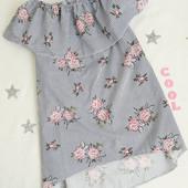 Стильные, легкие платья для девочек, хлопок, Украина!  Фото 1,2 наличие!