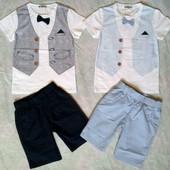 Нарядный костюм, комплект-двойка летний, Венгрия