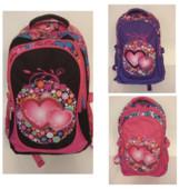 Рюкзак школьный,3 вида, 3 отделения,  ортопедическая спинка