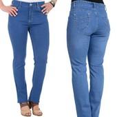 Джинсы женские синие Большие размеры на бедра от 110 до 150см