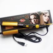 Стайлер для волос Rozia 2 в 1 (утюжок-плойка) с турмалиновым покрытием