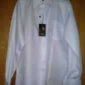 !Белые и сиреневый  рубашки с запонками с 5лет и до 182роста.Срочный сбор