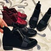 Нереально красивые ботиночки на девочек, выкуп от одной пары напрямую со склада! 30-35 размер,Польша