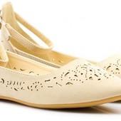 Красивейшие туфли балетки на низком ходу 37,38,39,40 PlatO Intertop оригинал