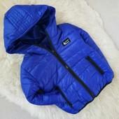 Отличные куртки и жилеты и ветровки 92-140 ! Качество проверено!