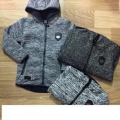 Безрукавки ,куртки для мальчиков  Grace,  1-16 л