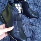 СП Демисезонные ботинки, утеплённые баечкой, быстрый выкуп