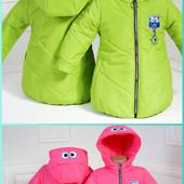 Новинки деми куртки-жилетки для девочек!!! Спайдермен для мальчиков!