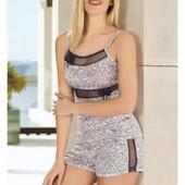 Турецкий трикотаж. Пижамы, комплекты с шортами и бриджами, пеньюары, ночнушки