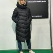 Зимняя курточка пуховик р. 40-52 реальные фото расцветки
