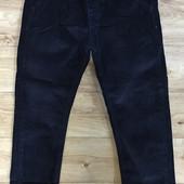 Вельветовые брюки на резинке (98-128р), пояс (134-164р). Осень. Венгрия