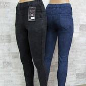 Лосины-джинсы на байке