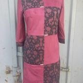 Срочная Распродажа на складе только 1 день Шикарные платья под замш р 48,50,52 Отличного качества