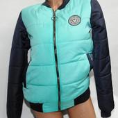 Стильные деми куртки -бомберы!!! 7 цветов на ваш выбор! р-ры 42-50