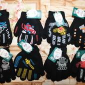Теплые рукавички  для мальчишек от Disney