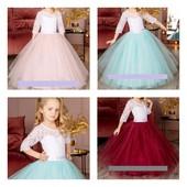 Большой выбор пышных платьев на девочек от 1 до 12лет. отшив по параметрам.