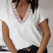 Новинки жіночі кофточки рубашки футболки від40 по 58р світерки туніки  якість гарантую від 44 по 58р