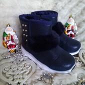 Зима уже скоро)))Классные и удобные ботиночки для девчёнок 25-32.
