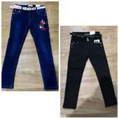 Котоновые брюки и джинсы на флисе. Сбор и остатки