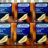 Презервативы Блок презервативів Contex 12 пачок №3 Lіghts до 03.2023