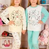 Пижамки с  Начесом и без !от 80р до 164р!Мальчик и девочка!