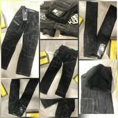 Брендовые подростковые джинсы на флисе Vigoocc. Размеры 23-29.