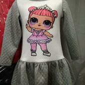 Платья для маленьких принцесс, размер 98-152