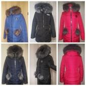 зимние куртки пальто 42, 44-60 размер мех отстегивается Харьков