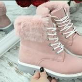 ❗Женские зимние ботинки на густом меху! 10 моделей! 36-41р.❗