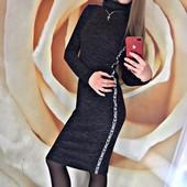 5 моделей на ваш выбор! Ангоровые платья отличного качества с минимальной наценкой! Размер 42-48