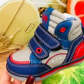 В наличии  21,22,23,24,25,26р!!!! Крутые ботиночки на флисе для малышариков. Размеры 21-26