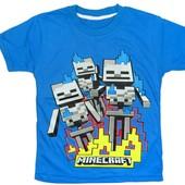 Яркие хлопковые футболки для мальчиков 3-8лет! Турецкие футболочки