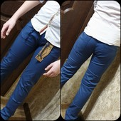 Деми брюки 116- 164рр . Серые и синие. Венгрия