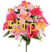 Искуственные цветы! готовимся к поминальным дням